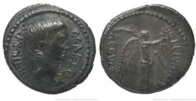 1603JU – Denier Octave – Lucius Livineius Regulus