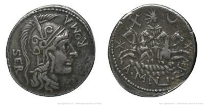 1130MA – Denier Manlia – A. Manlius