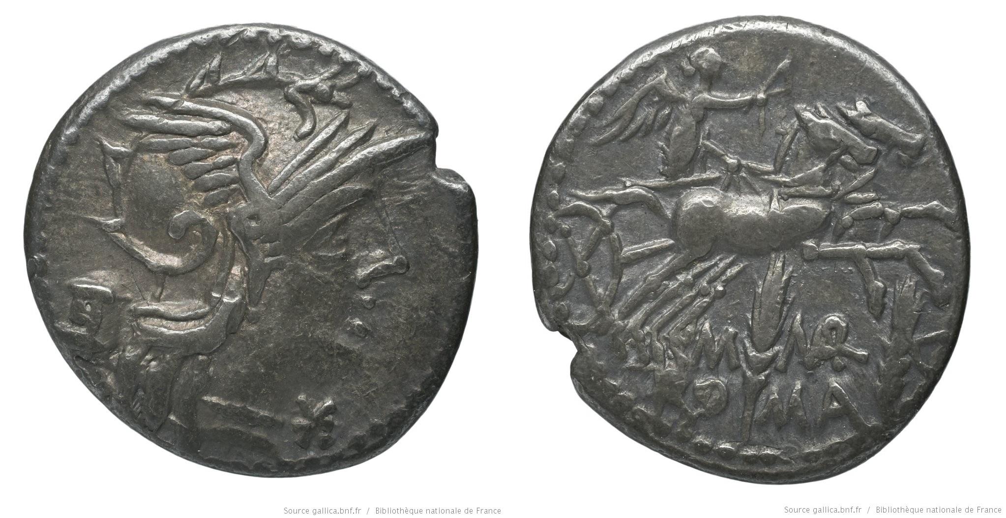 962MA – Denier Marcia – Marcus Marcius