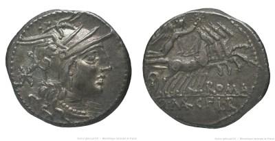 1072MA – Denier Marcia – Quintus Marcius