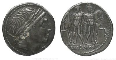Read more about the article 1119ME – Denier Memmia –  Lucius Memmius