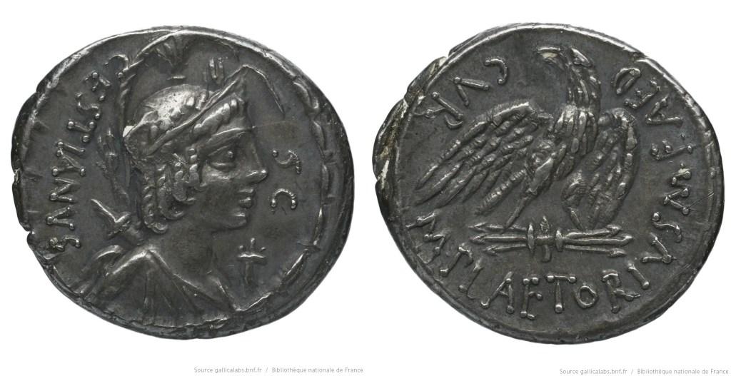 Read more about the article 1359PL – Denier Plaetoria – Marcus Plætorius Cestianus