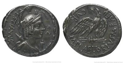 1359PL – Denier Plaetoria – Marcus Plætorius Cestianus