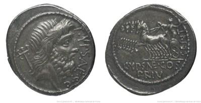 1387PL – Denier Plautia – Publius Plautius Hypsæus