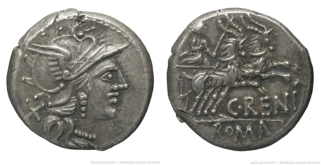 913RE – Denier Renia – Caius Renius