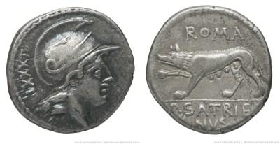1325SA – Denier Satriena – Publius Satrienus