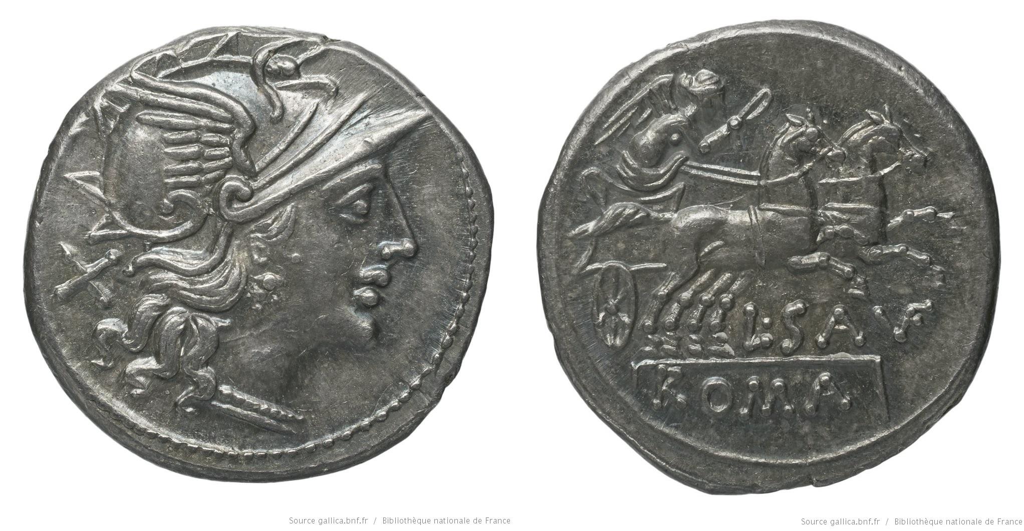 828SA – Denier Saufeia – Lucius Saufeius