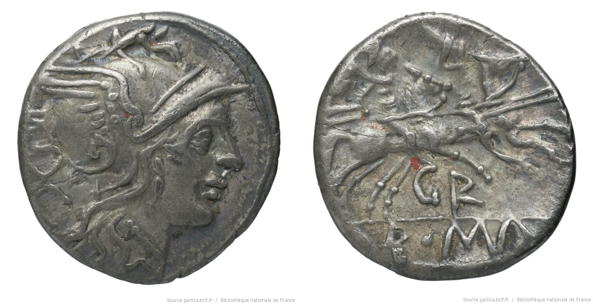 665SE – Denier Sempronia – Ti. Sempronius Gracchus
