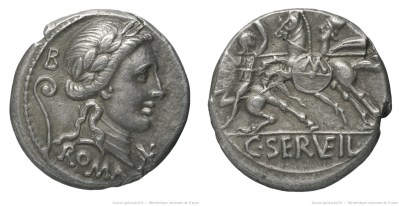 Read more about the article 1298SE – Denier Servilia – Caius Servilius