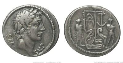 1418SU – Denier Sulpicia – Servus Sulpicius Galba