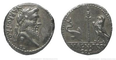 1429TE – Denier Pompée – Terentius Varro