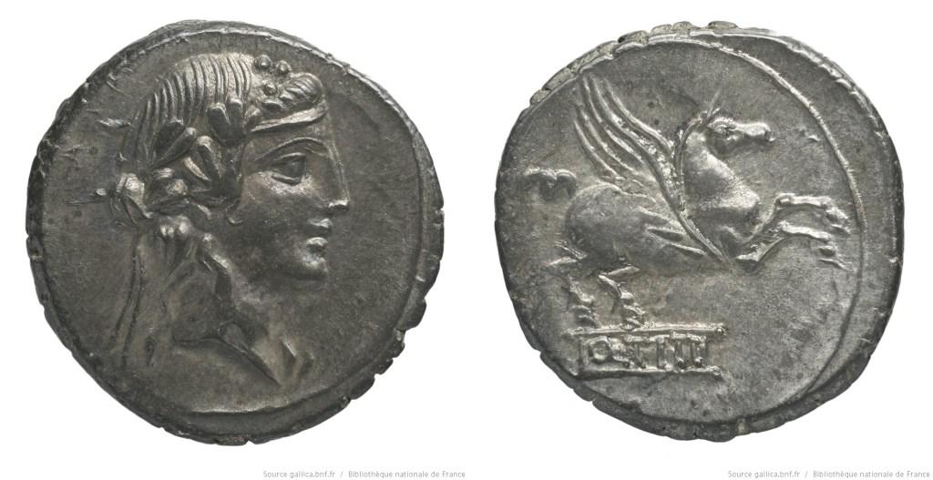 1213TI – Denier Titia – Quintus Titius