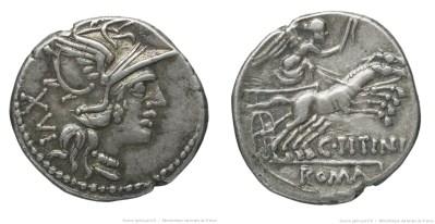 904TI – Denier Titinia – Caius Titinius