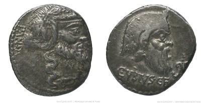 1219VI – Denier Vibia – Caius Vibius Pansa