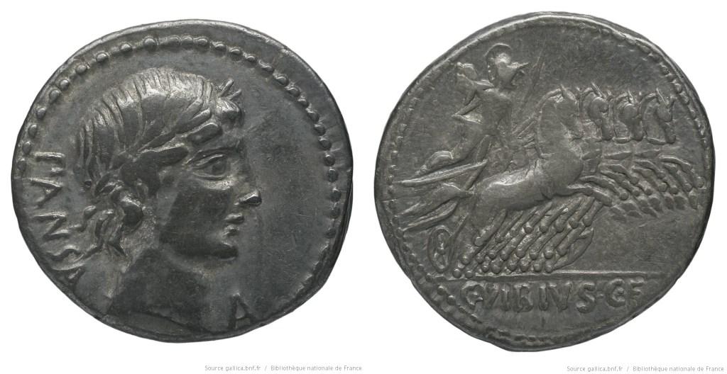 Read more about the article 1223VI – Denier Vibia – Caius Vibius Pansa