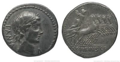 1223VI – Denier Vibia – Caius Vibius Pansa