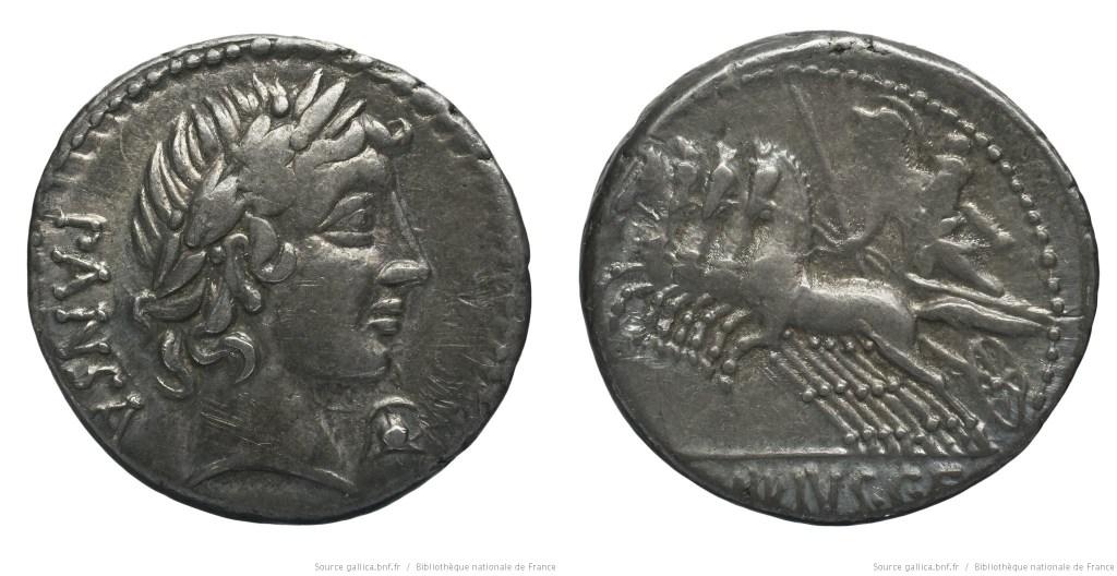 Read more about the article 1222VI – Denier Vibia – Caius Vibius Pansa
