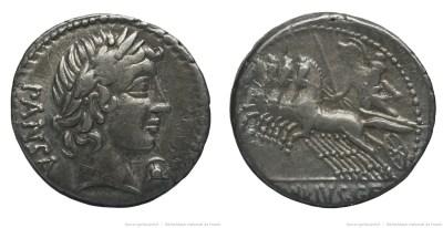 1222VI – Denier Vibia – Caius Vibius Pansa