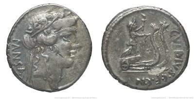 1436VI – Denier Vibia – Caius Vibius Pansa