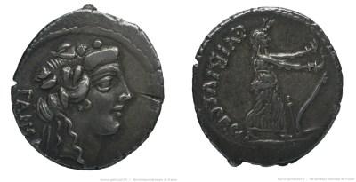 Read more about the article 1435VI – Denier Vibia – Caius Vibius Pansa