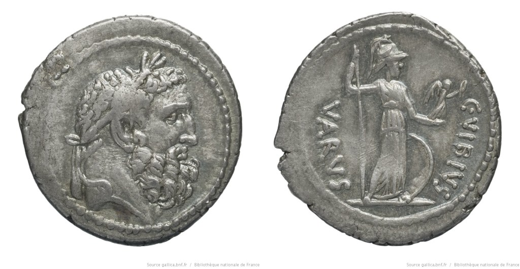 Read more about the article 1615VI – Denier Vibia – Caius Vibius Varus