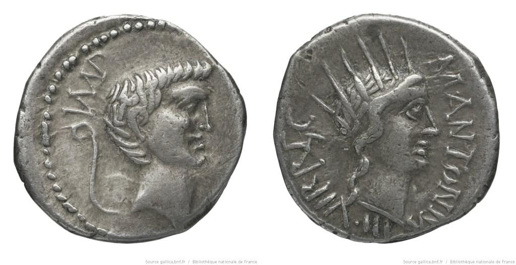 1627AN – Denier Marc Antoine – Marcus Antonius
