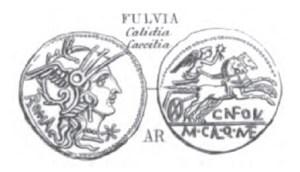 Denier Fulvia _ RRC 284/1b