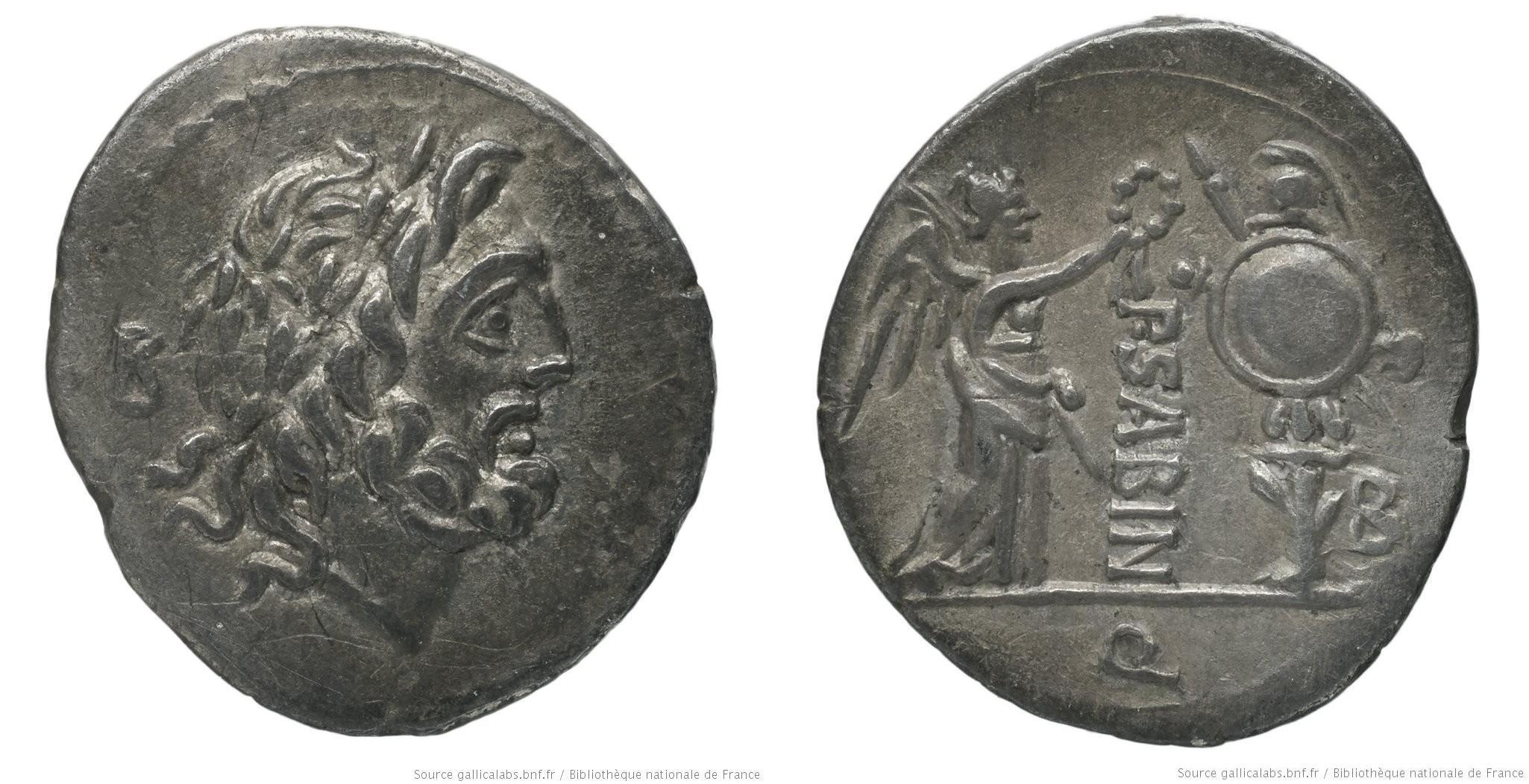 1168VE – Quinaire Vettia – Publius Vettius Sabinus