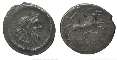 1191JU – Denier Junia – Decimus Junius Silanus