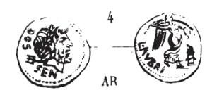 Quinaire Rubria RRC 348/4