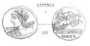 Denier Licinia _ RRC 354/1