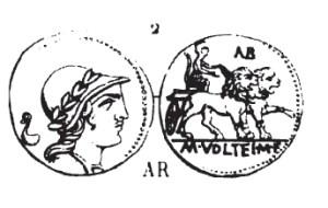 Denier Volteia _ RRC 385/4