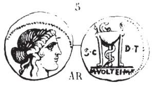 Denier Volteia _ RRC 385/5