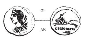 Denier Calpurnia _ RRC 408/1a