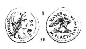 Denier Plaetoria _ RRC 409/1