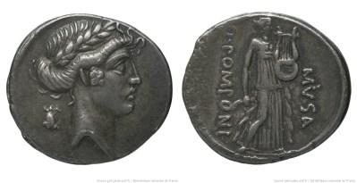 1367PO – Denier Pomponia – Quintus Pomponius Musa