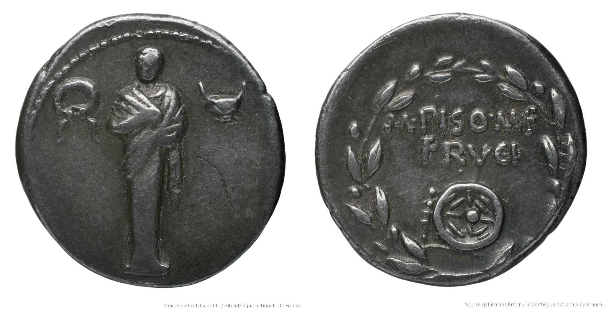1378CA – Denier Calpurnia – M. Pupius Piso