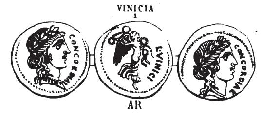 Denier Vinicia _ RRC 436/1