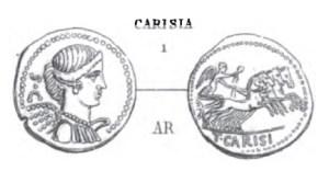 Denier Carisia _ RRC 464/5