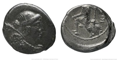1480CA – Quinaire Carisia – Titus Carisius