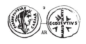 Denier César _ RRC 480/19