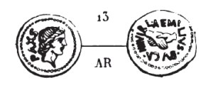 Quinaire Aemilia _ RRC 480/24