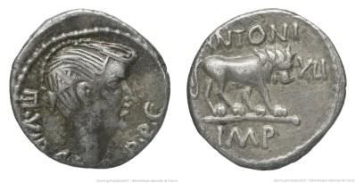 1569AN – Quinaire Fulvia – Marcus Antonius