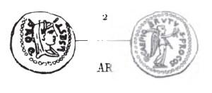 Quinaire Brutus _ RRC 502/3