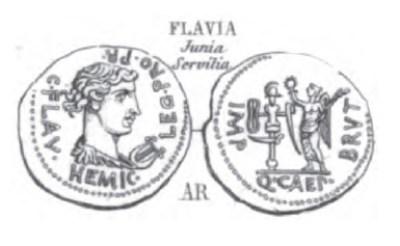 Denier Brutus _ RRC 504/1