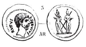 Denier Brutus _ RRC 515/2