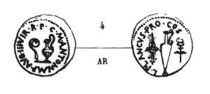 Denier Munatia Antonia _ RRC 522/2