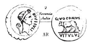 Denier Voconia _ RRC 526/2