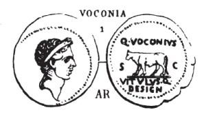 Denier Voconia _ RRC 526/4