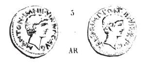 Denier Marc Antoine et Octave _ RRC 528/3